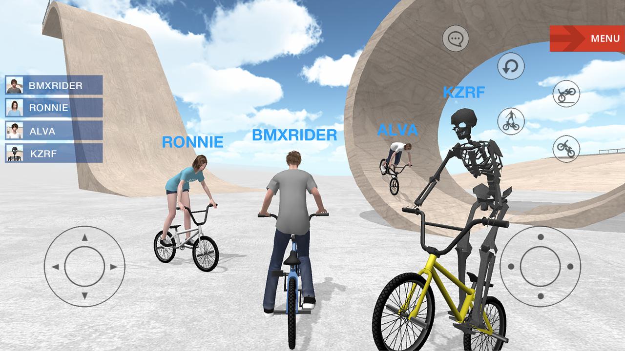 小轮车空间游戏截图