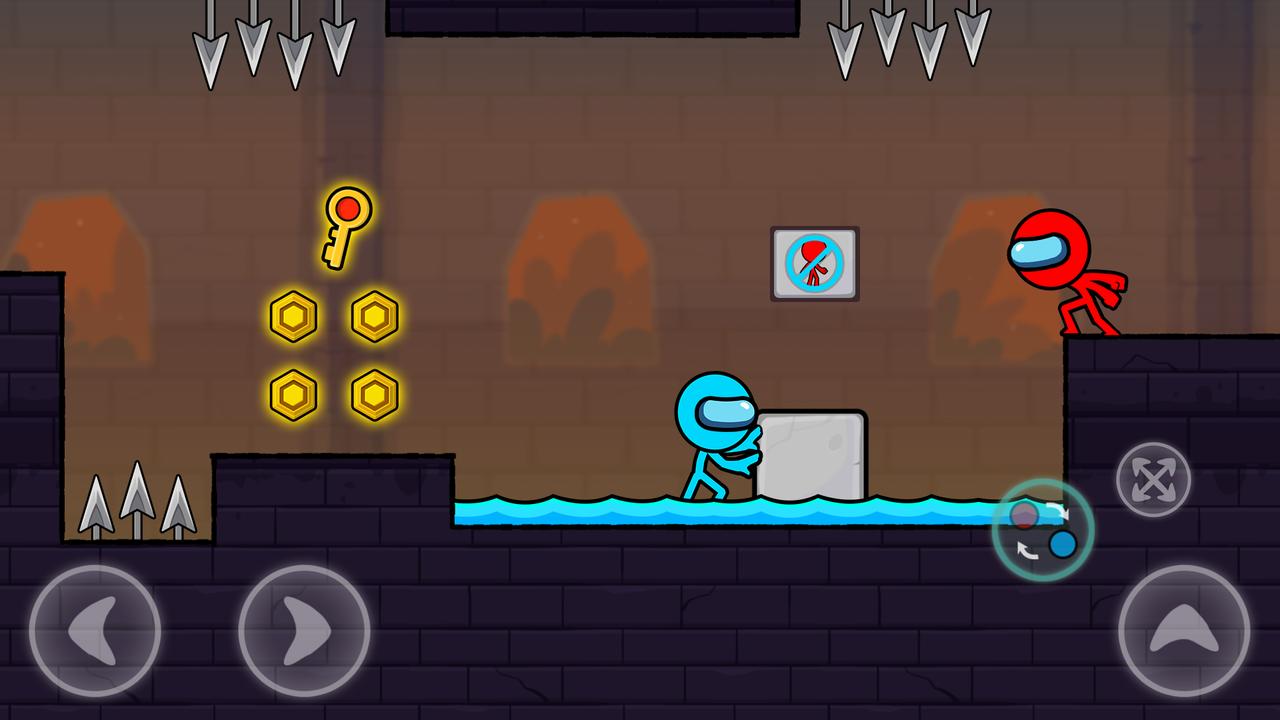 冰与火柴人2游戏截图